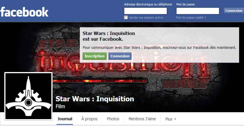 Follow Star Wars Inquisition