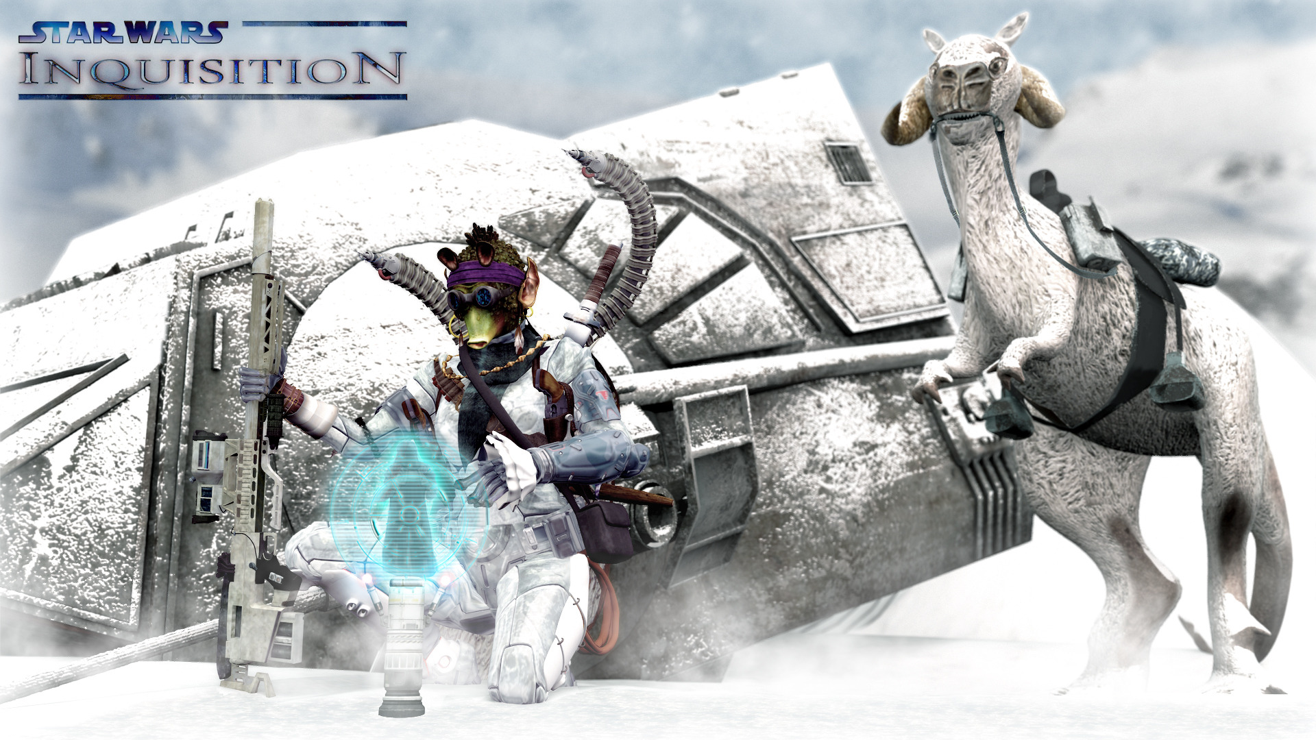 Rodian Hunting on Hoth